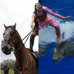 ridinghorseanddolphin